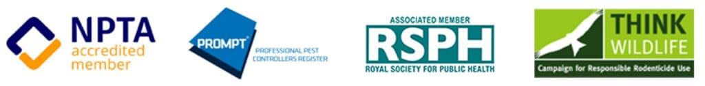 Pest Control Accreditation Logos